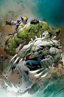 Hulkverines #1 (Of 3)  Pre-Orders 4 Midfebruary Read!! $1 Off Retail