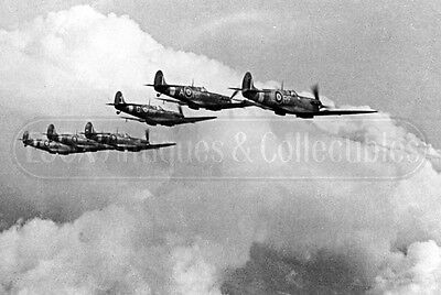 WWII POLISH PILOTS 303 Squadron Spitfire fighter plane Battle Britain WW2  photo
