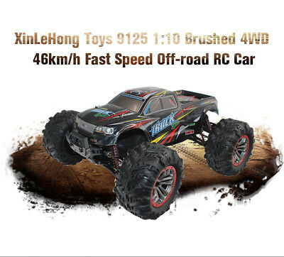 XinLeHong Toys 9125 1:10 Brushed 4WD 46km/h High Speed Off-road RC Racing Car