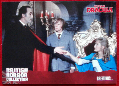 BRITISH HORROR COLLECTION - Scars Of Dracula - GREETINGS - Card #14