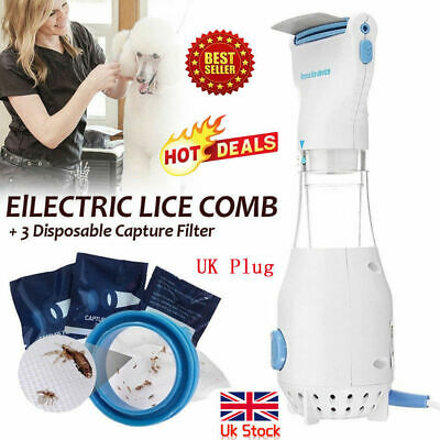 2019 LiceTex Automatic Head Lice Eliminator Fast Shipping UK Plug 24V FREE POST