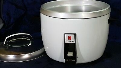 Panasonic Rice O Mat SR-28EG 15 Cup Rice Cooker/ Steamer