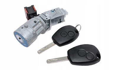 Master Kangoo Clio Fluence Modus Ignition Starter Switch Lock Barrel 2 Buttons