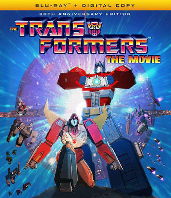 The Transformers: The Movie 1986 Animated (2 Disc, 30th Anniversary) BLU-RAY NEW