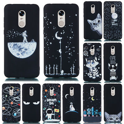 For Xiaomi Redmi 6 5 Plus Note 8 7 6 Pro 4X Soft Silicone Painted TPU Case Cover