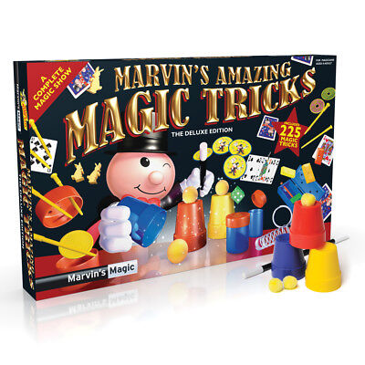 Marvin's Amazing Magic Tricks Complete Magic Show 225 Tricks! Age 6+ Years