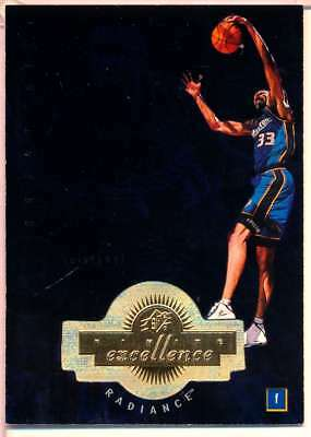 1998-99 Spx Finite Excellence Radiance 468/590 Grant Hill Pistons B1568