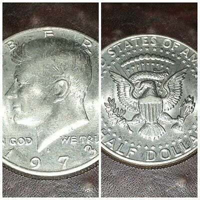 1973 D Kennedy Half Dollar coin