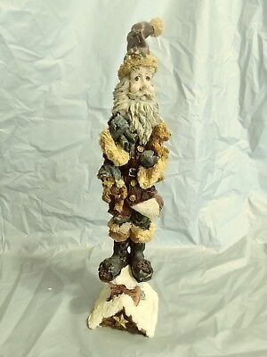 """Boyd's Bears Folkstone Collection """"SlickNick the Chimney Sweep"""" MIB Santa Clause"""