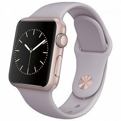 Genuine Apple Watch Sport Band - 38MM Lavender S/M AND M/L Bands - Authentic OEM