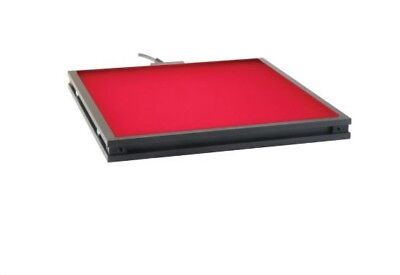 "BL0808 - 8"" x 8"" Background lighting with surface- mounted red LEDs"