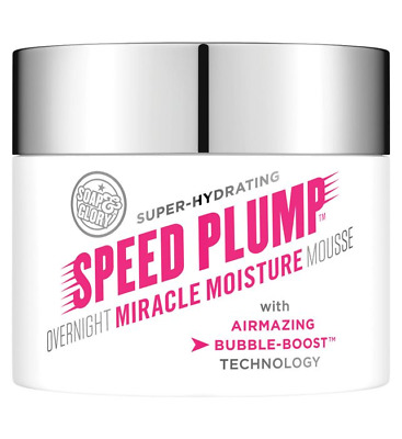 Soap And Glory Speed Plump Overnight Miracle Moisture Mousse Night Cream 40ml