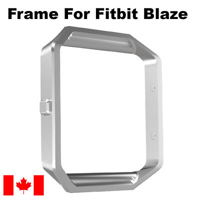 For Fitbit Blaze Frame Only Replacement Smart Watch Frame Silver - Canada