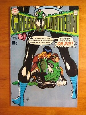 GREEN LANTERN #74 (FN) Super-Bright, Colorful & Glossy!
