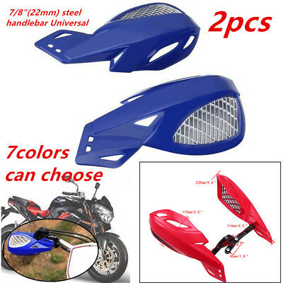 2x(L&R) Excellent Motorcycle Hand Guard w/ Mounting Kit For 7/8''handlebar Tool
