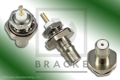 2 pieces of QMA Female  Connector Front Mount BRACKE BM61205