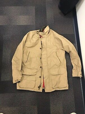 bc1eb9cb74388 ORVIS HERITAGE FIELD Coat - Waxed Cotton- Size Large - $75.00 | PicClick
