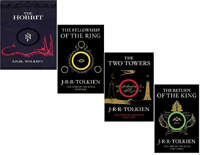 J. R. R. Tolkien - 4 books The Hobbit & Lord of the rings (PDF english book)
