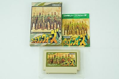 FAMICOM WARS NES Nintendo Famicom Box From Japan