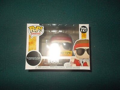 Funko Pop TV Supernatural Hot Topic Exclusive #721 Coach Dean with protector