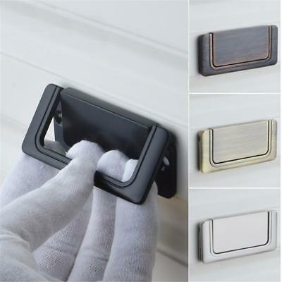 1Pc Kitchen Cabinet Invisible Flat Handle Pull Knob Door Cupboard Drawer Handles