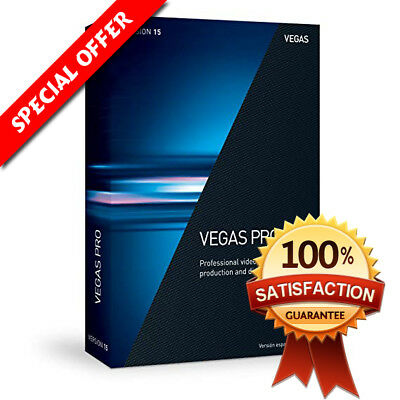 Sony Vegas Pro 15 Video Editing Software Lifetime License Instant Delivery 10min