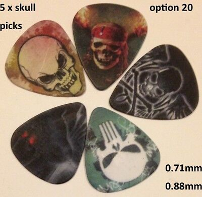 Guitar picks many awesome designs available in various gauges FREE POSTAGE