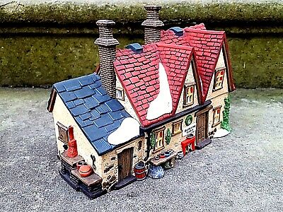 "Department 56 ""Butter Tub Farmhouse"" Retired Dickens Village Series #58337"