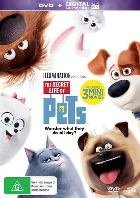 The Secret Life Of Pets (DVD, 2016)