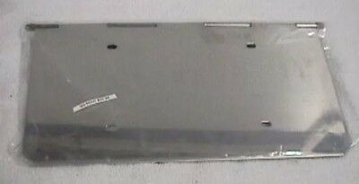 License plate holder single stainless steel for Peterbilt tow hook cover