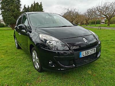 RENAULT SCENIC dCi 110 EDC Auto Dynamique TomTom 2011 Diesel Automatic in Black