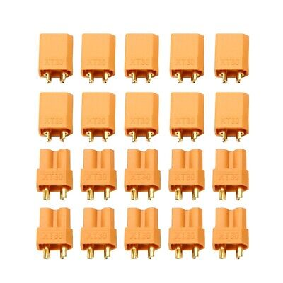 XT30 Power Connector Plug Socket Male Female For RC Quadcopter Helicopter UK