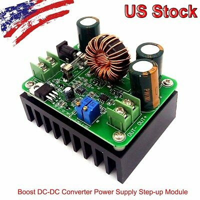 Boost DC-DC Converter Power Supply Step-up Module 12V-60V to 12V-80V 600W 10A MA