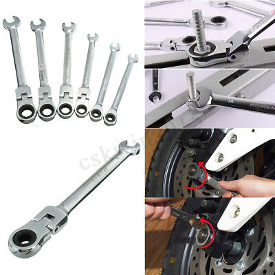 6-12mm flessibile metriche chiave combinazione Ratchet Wrench Tool Set Kit mecca