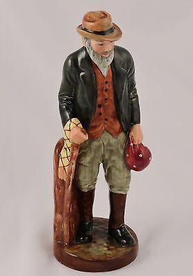 """Royal Doulton The Gaffer Figurine HN2053 COPR 1949 Doulton & Co. Limited 7.75"""""""