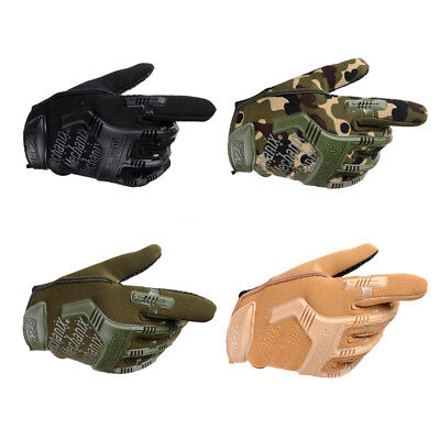 Army Combat Tactical Men Full Finger Anti-Slip Military Swat Soldier Gloves Orna