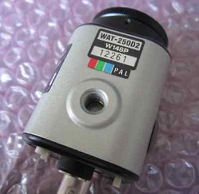 "Used WATEC WAT-250D2 WAT250D2 1/3"" CCD Color Cam. Module PAL #RS19"