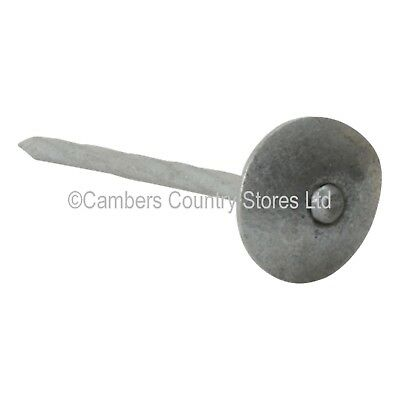 NEW Galvanised Twist Shank Spring Head Roofing Nails 1kg, 10kg, 25kg 65mm x 3.35
