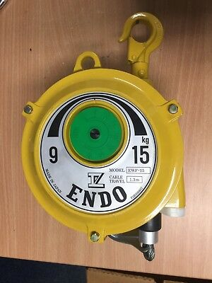ENDO EWF-15 Spring Balancer 9-15kg with 1.3m cable