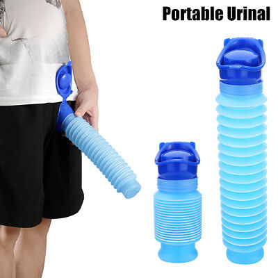 Emergency Urinal Portable Shrinkable Potty Pee Bottle Outdoor Travel GYTH