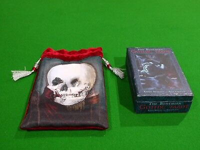 The Bohemian Gothic Tarot - with a bag in mint condition