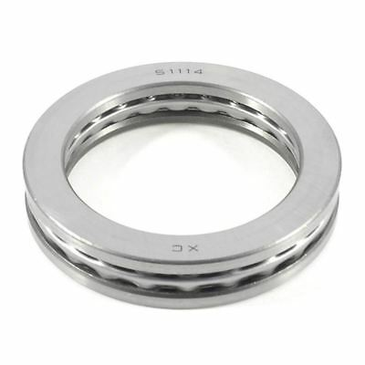 3X(95 mm x 70 mm x 18 mm Auto close magnetic axial thrust ball bearings 51114 P2