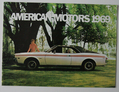 Wondrous Automobilia Collectibles 1969 Amc American Motors Electrical Wiring Wiring Digital Resources Aeocykbiperorg