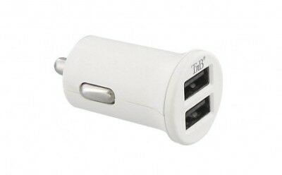 Chargeur allume-cigare double USB 2A