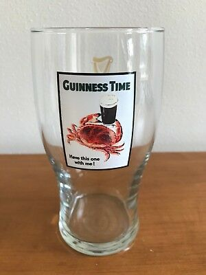 "Guinness Time ""Have This One On Me!"" Collectible Pint Glass"