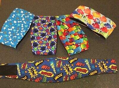 Dog Belly Bands,Male Dog Diaper Wraps-Clothes ,Training,Housebreaking Set of 5