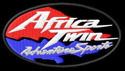Africa Twin Adventure Sports iron PATCH Aufnäher Parche brodé honda patche toppa