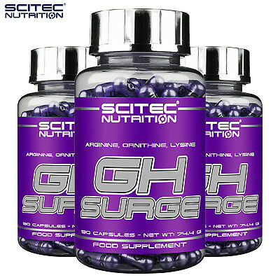 GH SURGE Dietary Supplement Testosterone Booster & Supports Hormone Release