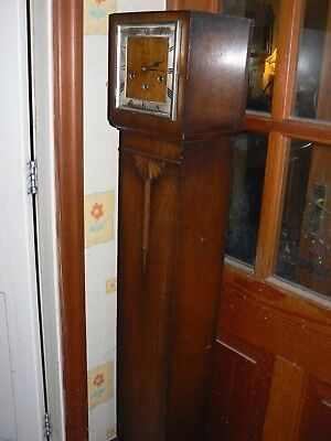 Art Deco Grandmother longcase clock