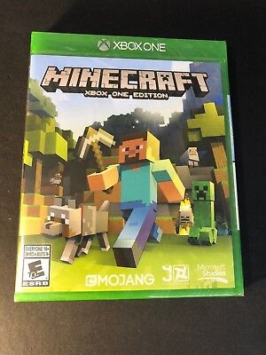 New Minecraft for XBOX ONE - Sealed Package